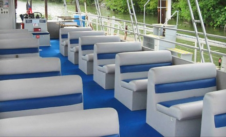 $18 for a Sightseeing Cruise, Haunted History Cruise, or Water-Taxi Ride for Two from NavCal River Rides (Up to $36 Value)