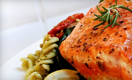 Upscale Fare for Dinner for Two or Four or for Lunch for Two at Town Square Grill (Up to 65% Off)