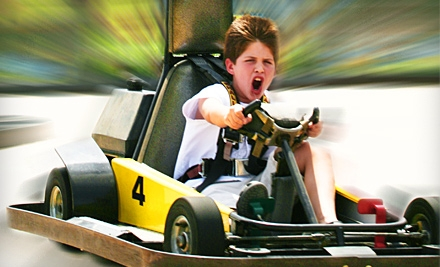 Three Hours of Mini Golf, Go-Karts, and Bumper Boats for Two, Four, or Six at Adventure Zone (Up to 65% Off)