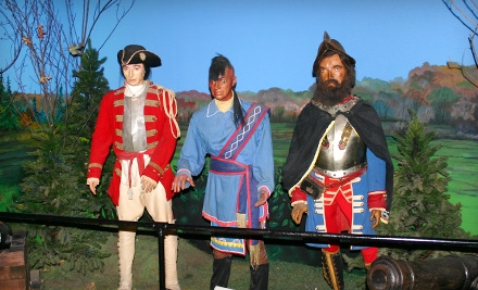 $7 for a Niagara Wax Museum of History Visit for Two in Niagara Falls ($14 Value)