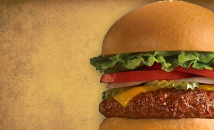 $8 for $16 Worth of Burgers and Classic American Fare at Fuddruckers in Boise or Meridian