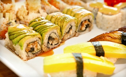 Hibachi Dinner Fare, Sushi Dinner Fare, or Hibachi Lunch Fare at Saké Japanese Steakhouse & Sushi Bar (Half Off)