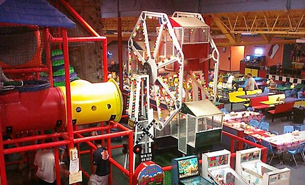 Games, Attractions, and Snacks at Joker's Family Fun and Games (Up to 60% Off). Three Options Available.