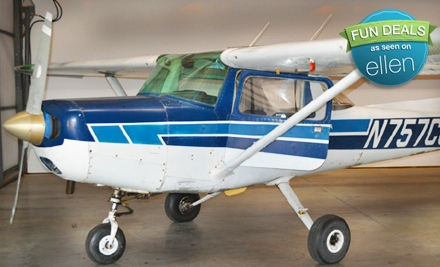 $49 for an Introductory Flying Lesson at Big Air Aviation in Rutherfordton ($100 Value)