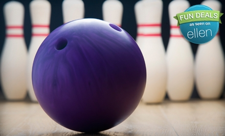$30 for a Two-Hour Bowling Outing for Six with Pizza and Soda at Metro Bowl (Up to $59.95 Value)