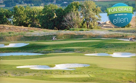 Golf Outing with Cart for Two People on a Weekday, Weekend, or Holiday at Hunter's Point Golf Club (Half Off)