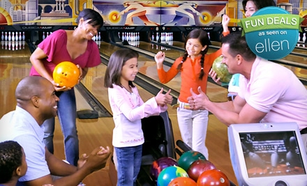 Two Hours of Bowling and Shoe Rental for Two or Four at AMF Bowling Centers (Up to 57% Off). 271 Locations Nationwide.