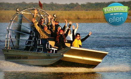 Airboat Tour for Two or Four from Loughman Lake Lodge (Up to 56% Off)