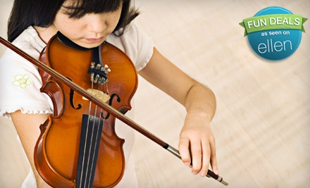 $62 for Four Weeks of Music Classes at Music to My Ears in Cotati ($128 Value)
