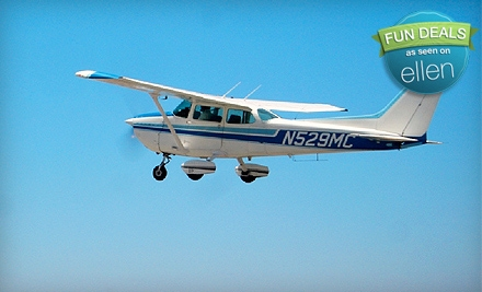$99 for a Discovery Flight Package from Royal Aviation in Costa Mesa ($199.95 Value)