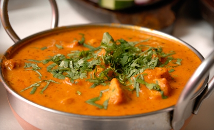 $15 for $30 Worth of Indian Dinner Fare or Lunch Buffet for Two at Taste of India in North Little Rock