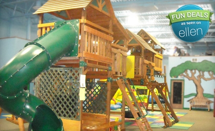 10-Session Children's Play Packages at Lost in Fun (Up to 53% Off). Three Options Available.