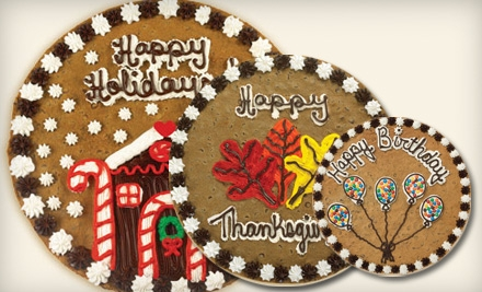 $14 for a 16-Inch Round Cookie Cake from Great American Cookies ($28.99 Value)