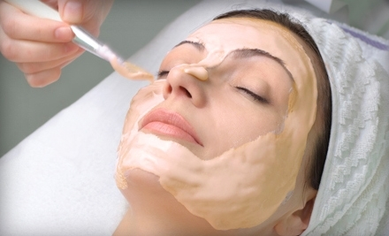 Pumpkin-Peel Facial or Dead Sea Mud Wrap at The Skin Station (Up to 69% Off)