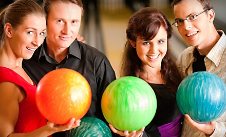 Bowling Outing for Six at Vantage Bowling Centers (Up to 60% Off). Two Options Available.