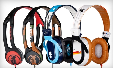 Icon 2 Grenade Headphones or Agent Headphones with Shipping Included from Skullcandy