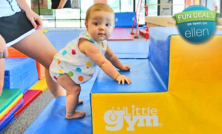 $34 for Four Kids' Gym Classes at The Little Gym of Perinton-Pittsford in Fairport ($68 Value)