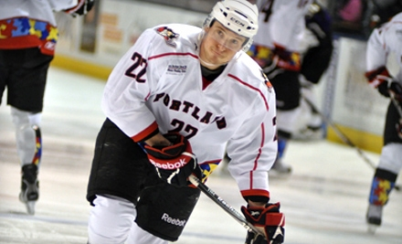 Two or Four Main-Deck Tickets to Portland Pirates Hockey Game at Cumberland County Civic Center. Three Games Available.