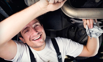 $15 for Oil Change and Tire Rotation at Auto-Lab ($49.14 Value)
