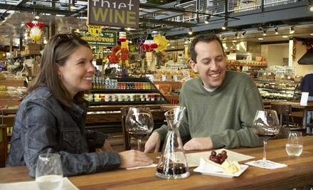 $15 for $30 Worth of Bar-Menu Items or Private Wine Tasting for Eight at Thief Wine (Up to Half Off)