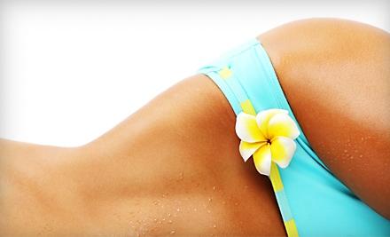Full-Body Airbrush Tan or Four-Week Airbrush-Tan Maintenance Package at Salon X in Stoughton (52% Off)