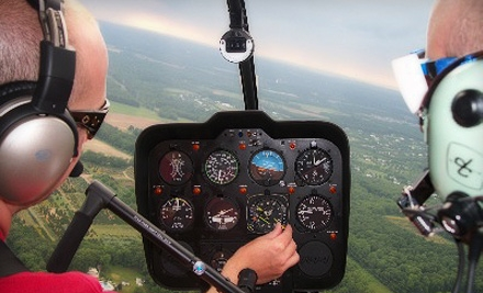 $189 for a Fall-Foliage Helicopter Tour for Up to Three People from Independence Helicopters ($450 Value)