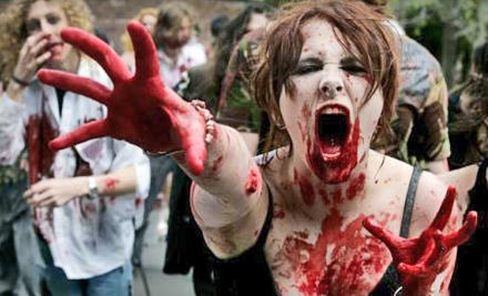 $63 for a Zombie Challenge Obstacle Run for Two in North Bend ($126.18 Value). Four Time Slots Available.