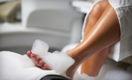 Basic Pedicure or Ultimate-Pedicure Package at Pomegranate Salon in Santa Rosa (51% Off)