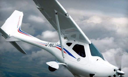 $65 for a Discovery Flight and Ground Lesson from Pilot Journey ($129.95 Value)