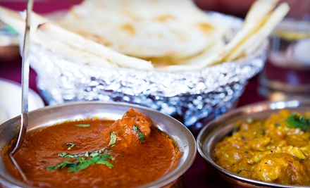 Indian Fare or Indian Fare for Four or More at Apna Punjab in Rehoboth (Up to 55% Off)