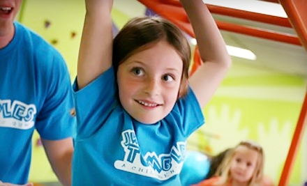 $35 for a Kids' Fitness Package with Lifetime Family Membership to JW Tumbles ($175 Value). Two Locations Available.