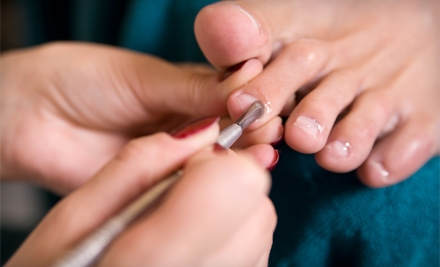 $35 for a Classic Mani-Pedi at Enchante Day Spa and Salon in Kirkland (Up to $70 Value)