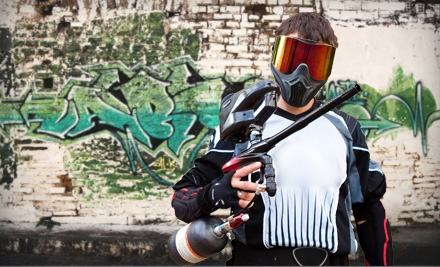 2, 4, 6, or 10 All-DayPaintball Outings, Equipment and Ammo at Urban Attack Paintball (Up to 56% Off)