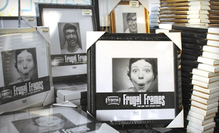 $25 for $55 Worth of Frames, Mirrors, and Art at Frame Central