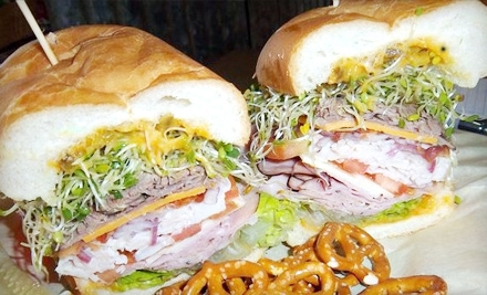 $5 for $10 Worth of Gourmet Sandwiches at Smacky's on Broadway