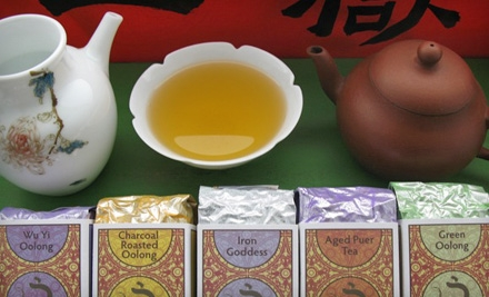 Tea Tastings for Two or Four at J-Tea (Up to 55% Off)
