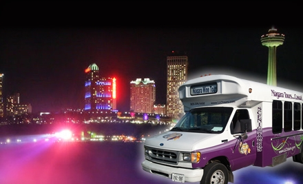 Niagara Winter Lights Tour for One, Two, or Four People from Niagara Fun Tours (56% Off)