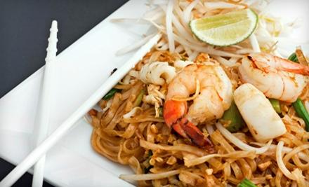 $10 for $20 Worth of Thai Cuisine at Thai Jasmine Restaurant in Rancho Cordova