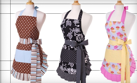 $15 for $30 Worth of Aprons and Kitchen Gloves from Flirty Aprons