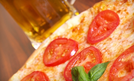 Pizza Dinner with Beer for Two or Pizza Dinner with Beer and Comedy Show for Two at Northstar Substation (Up to 58% Off)