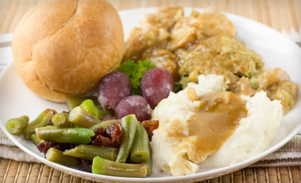 Holiday Meal with Turkey, Sides, and Dessert for 4, 8, or 12 from Applause Catering + Events (Up to 67% Off)