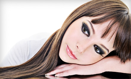 Brazilian Blowout or KeraGreen Keratin Treatment or Cut and Color from Alicia Clark at iSalon Studios (Up to 51% Off)