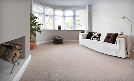 Carpet Cleaning for Three Rooms and a Hallway or Five Rooms and a Hallway from On Time Carpet Service (Up to Half Off)