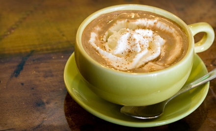 10 Medium Coffees or Medium Specialty Coffee Drinks at Sippers Coffeehouse (Up to 54% Off)