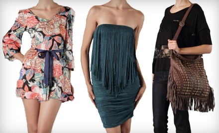 $30 for $60 Worth of Apparel and Accessories at Zoya Boutique