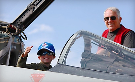 Outing for Two or Family of Four to Aerospace Museum of California in McClellan (Up to 54% Off)