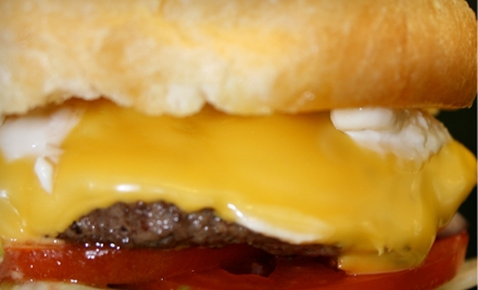Burger and Beer Challenge for One or Two at Funky Little Kitchen on Saturday, November 12 (Up to 56% Off)