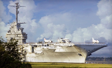 $18 for Patriots Point Naval & Maritime Museum Visit for Two in Mt. Pleasant (Up to $36 Value)