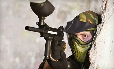 Three-Hour Paintball Outing with Equipment Rental for One, Four, or Six at Diamond Hill Paintball (Up to 55% Off)