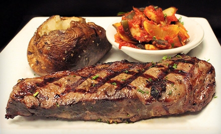 $15 for $30 Worth of Seafood, Steak, and Upscale American Fare at Eighty Ates Bar & Grille or Bistro Eighty Ates